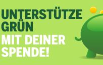 Ünterstütze die Grünen mit deiner Spende