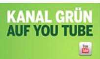 Youtube Kanal der Grünen