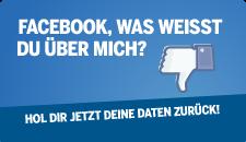 Daten von Facebook zurückholen