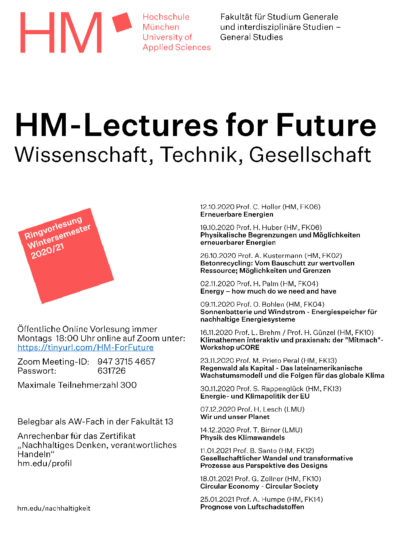 thumbnail of Plakat Ringvorlesung HM-Lectures for Future_web
