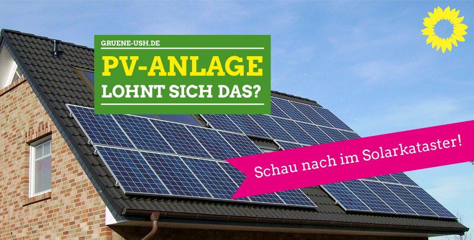 Solarkataster für Oberhaching